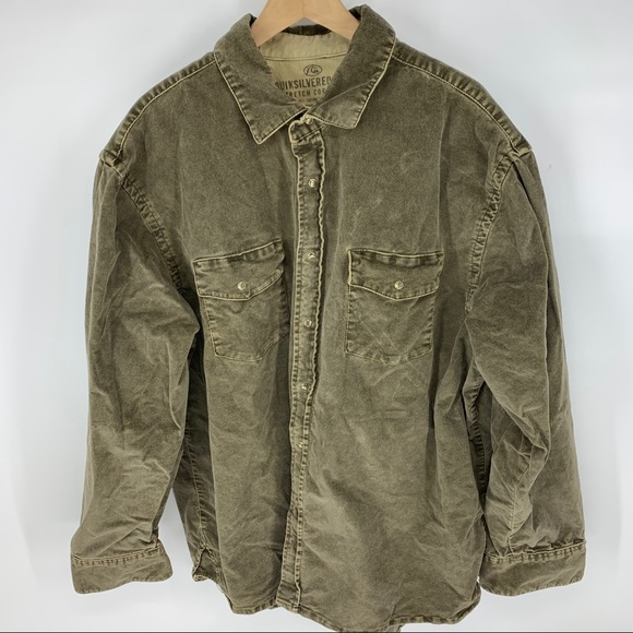 Quicksilver Corduroy overshirt shirt jacket
